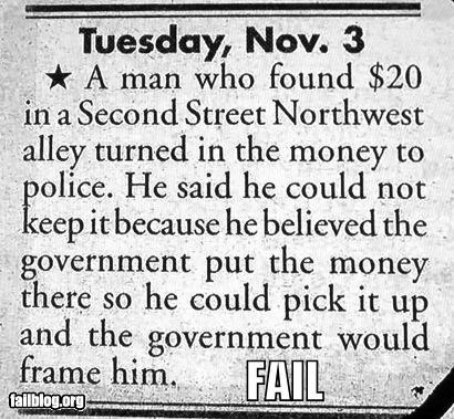 Paranoia FAIL