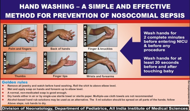 IEC Hand Washing A simple and Effective Method for Prevention of Nosocomial Sepsis-971