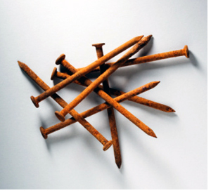 Rusty nails Can cause Tetanus